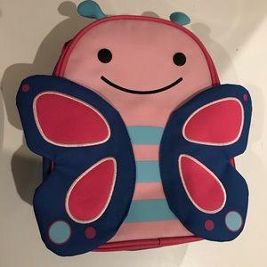 Skip Hop Zoo Butterfly lunch box